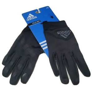 adidas Adult Cold.RDY AWP Shield Gloves Touchscreen Size L/XL Black/Gray