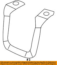 CHRYSLER OEM Glove Compartment Box-Latch Striker 5159126AA