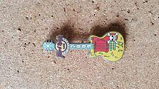 Hard Rock Cafe Pin EDINBURGH Mini Skull on Guitar 2009