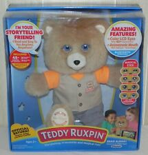 Teddy Ruxpin Animated Talking Storytime Bear Bluetooth LCD Eyes 2017 - BRAND NEW