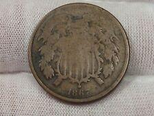 1867 US 2¢ Cent Piece. #19
