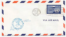 United Nations 1960 Airmail First Flight Cover #C3 New York to Shannon, Ireland