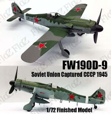 Fw190 D-9 Soviet Union Capture CCCP 1945 1/72 aircraft finished plane Easy model