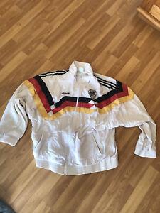 Adidas DFB vintage retro Jacke WM 1990 Gr. L