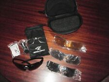 Robesbon Cycling Bike Sunglasses, Interchangeable Lenses + Carrying Case & Pouch