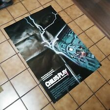 1988 Childs Play Original  Movie Poster 27 x 40 Chucky Horror