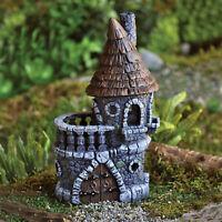 Fiddlehead Fairies Castle Fairy Garden House Hobbit Home Outdoor Accessory