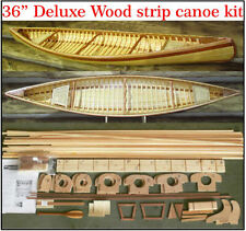 "36"" Canoe model kit. Just like the real thing!"