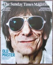 Ronnie Wood - Sunday Times Magazine – 8 September 2013