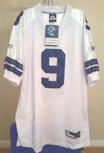 Dallas Cowboys NFL Reebok White #9 size 56 Football Jersey