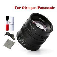 7artisans 55mm F1.4 APS-C M4/3 Manual Single Focus Prime Len F Olympus Panasonic