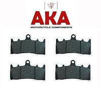 Motorcycle Brake Pads FA158 (2 SETS) AKA