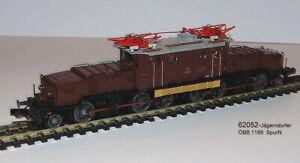 Jägerndorfer 62052 - E-Lok ÖBB- BR1189.05 -Krokodil braun -Ep.III  -SpurN Neu
