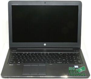 HP ZBook 15 G4 15.6 Intel Core i7-7820HQ NVIDIA Quadro M2200 FHD 16GB NVMe 256GB