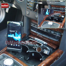 Long Car Cell Mount Bendable Arm+USB+Cigarette Port/Outlet Fit Sony Xperia LT26i