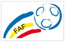 """Andorra Football Federation FAF sticker decal 5"""" x 3"""""""