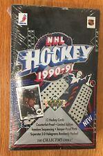 upper deck 1990 /91 NHL Hockey trading cards box set