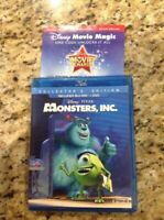 Monsters, Inc. (Blu-ray DISC ONLY, 2013,1-Disc)Authentic US Release