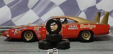 """1/32 URETHANE SLOT CAR TIRES 2pr PGT-23103XD """"Soft"""" fit CARRERA Historic Nascar"""