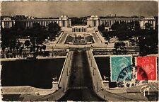 CPA PARIS 16e-Le Pont d'Iéna et les Jardins du Palais de Chaillot (325408)