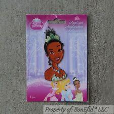 BonEful Boutique GIRL Disney Princess & the Frog Dress Fabric Iron On Applique S