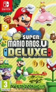 Nouveau Super Mario Bros U Deluxe Nintendo Interrupteur Nintendo