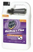 Hot Shot DEET-Free Indoor Only Bed Bug Killer, 128 oz. Liquid Spray 128 oz.