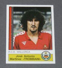 146 TROBBIANI RCD MALLORCA PANINI LIGA FUTBOL 87 ESPAÑA 1986-1987 FOOTBALL