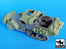 Black Dog 1/35 US M2 Half-track WWII Big Accessories Set (for Dragon kit) T35034