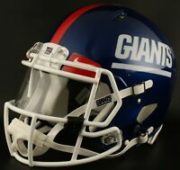 ***CUSTOM*** NEW YORK GIANTS Full Size NFL Riddell SPEED Football Helmet