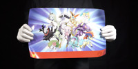 Official Pokemon 20th Anniversary Double Sided Poster - 'The Masked Man'