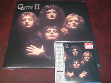 QUEEN II 180 GRAM HOLLYWOOD RECORDS 2008 RARE AUDIOPHILE  LP + JAPAN REPLICA CD