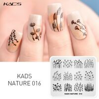 KADS Nail Art Stamping Plate Chinese Mermaid Panda Nature Nail Stamp Template