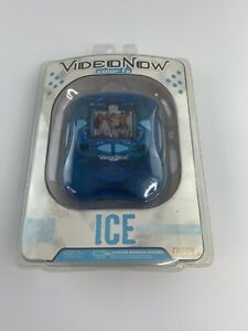 NEW! 2006 VideoNow Color FX Ice Blue Video PVD Player Tiger Electronics Personal