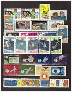 S22808) Space - MNH .cu Ba. 49v + S/S X 4 (As Para 3 Lecturas)