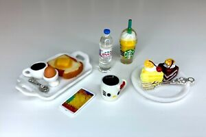 Eledoll 1:6 Dollhouse Miniatures Food Lot Set For Diorama Display Mini Food