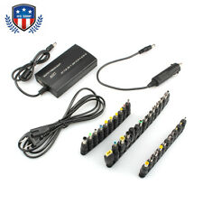 Universal Home Car Charger 34 Tips Laptop Notebook Power Supply Adapter USA