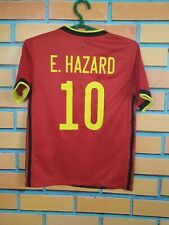 Hazard Belgium Jersey 2019/20 Home Kids Boys 9-10 y Shirt Football Adidas EJ8551