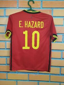 Hazard Belgium Jersey 2019/20 Home Kids Boys 9-10 y Shirt Football Adidas EJ8551