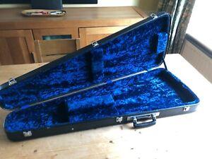 Vintage Shaped Electric Guitar Case Strat Stratocaster Telecaster Tele V Clean