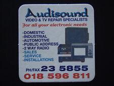 AUDIOSOUND VIDEO & TV REPAIR SPECIALISTS 235855 018596811 COASTER