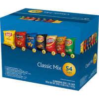 Frito Lay Classic Mix Variety Pack 1 oz, 54-count Lays Cheetos Doritos Fritos
