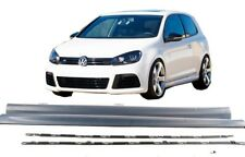 Volkswagen Golf 6 R20 MK6 VI Side Skirts R20 Look Sills Plastic Covers Fits: MK6