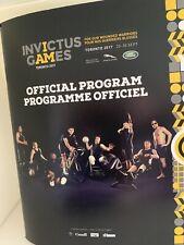 Invictus Games Toronto Opening Ceremony Programme 2017