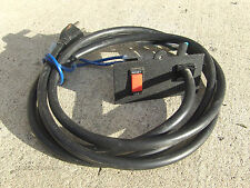 TREADMILL PART: Nordic Track C2420 Power Cable+OFF/Reset Switch Circuit Breaker