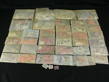 Large Australia Dealer Stock Lot Stamp Collection 1000+ Used Stamps in Glassines