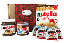 Nutella Ultimate Selection Box - 18 Items - The Perfect Nutella Lovers Gift
