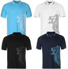 Lonsdale unifarbene Kurzarm Herren-Freizeithemden & -Shirts