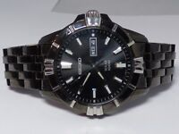 SEIKO MEN'S SNE177 MODERN SOLAR 100M WATCH V158 0AH0