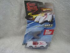 Speed Racer (Hot Wheels) Mach 5 with Saw Blades Movie Accessory included! 1:64